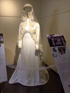 Wedding Dress Of Cynthia Neskow M Edsel B Ford Ii 1970s