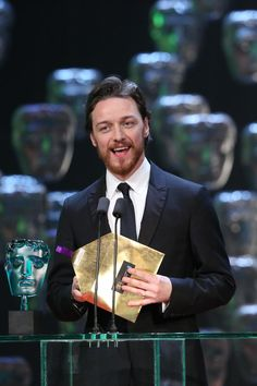 James McAvoy | 2015 EE British Academy Film Awards Ceremony in Pictures | BAFTA