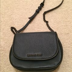 Michael Kors Bedford crossbody navy blue NWOT beautiful Michael Kors crossbody. With black hardware. Has one inside pocket and one outside pocket at the back. Adjustable crossbody strap. No marks, stains or rips. Just like new. Never worn. MICHAEL Michael Kors Bags Crossbody Bags