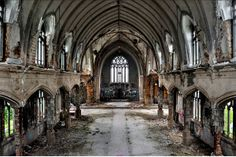 St. Agnes Catholic Church, built in 1921 and abandoned in 2006. (Michael S. Williamson/The Washington Post)