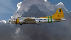 B17 Flying Fortress World War II bomber.
