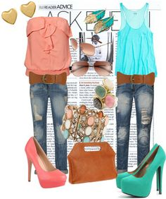 """""""colors"""" by damngna on Polyvore"""
