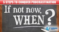 #college #procrastination #stydying According to Wikipedia, procrastination is the avoidance of doing a task that needs to be accomplished. After winter holidays many people suffer from this psychological disease! What to do in order not to feel procrastination? Our team has prepared 5 the most effective advice for you!