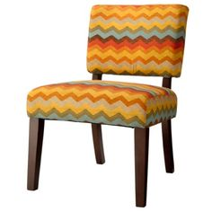 Vale Open Back Slipper Accent Chair Floral Graffiti.Possible Dining Room  Accent Chairs? Would These Colors Coordinate With My Family Room.