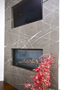Marble Fireplace Sur