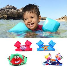 Puddle Jumper Swimming Deluxe Cartoon Life Jacket safety Vest for Children US