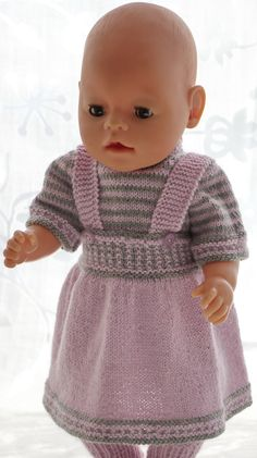 63 Ideas For Baby Born Doll Knitting Knitting Dolls Clothes, Crochet Doll Clothes, Knitted Dolls, Doll Clothes Patterns, Doll Patterns, Baby Born Clothes, Unisex Baby Clothes, Leggings Gris, Baby Hat Knitting Pattern