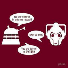 Doctor Who, Dalek, Cybermen