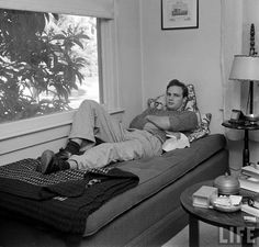Brando on the couch