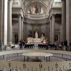 Le pendule de Foucault au Panthéon