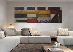 Cuadro Pintura moderna realizada con pinturas acrílicas sobre lienzo preparado con texturas y montado sobre un bastidor doble que no necesita marco. Arte para tu hogar pintado a mano.