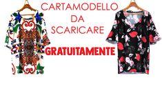 Fashion_Drawing: CARTAMODELLO ABITO SVASATO