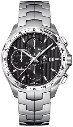Tag Heuer Link - Black Face Chrono