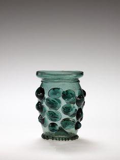 Medieval Glass: Forest Glass Beaker (Krautstrunk), 1500-1525 | Corning Museum of Glass
