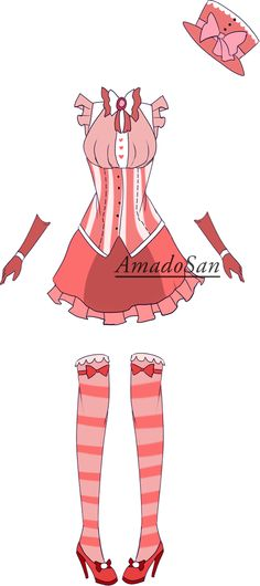loli outfit Adoptable closed by AS-Adoptables.deviantart.com on @DeviantArt