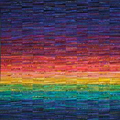 Ann Brauer's contemporary quilts, soaring beyond tradition