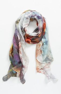 Colorful Summer scarf!