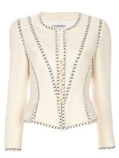 Chanel Vintage chaqueta de lana