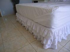 ideias de saia para cama box - Pesquisa Google