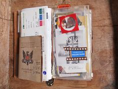 A beautifully used Midori notebook