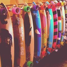 Would be awesome to have a closet full of long boards :) hmm, which one to choose today