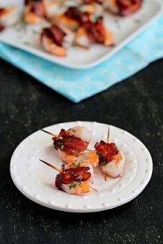 Easy Bacon-Wrapped Shrimp Appetizer | cookincanuck.com #recipe #appetizer by CookinCanuck, via Flickr