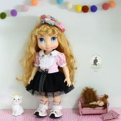 Hat and shoes not includes. For Disney animator doll 16