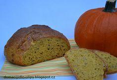 Domácí jídlo U Lípy: Dýňový chléb Banana Bread, Baking, Desserts, Food, Tailgate Desserts, Deserts, Bakken, Essen, Postres