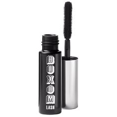 Buxom Mascara Mini .06 fl oz. in Blackest Black.  Brand new from a set, still in silver foil packet.  (Approximately $13 as estimated on the bare minerals website.)