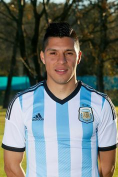 Jugadores de la selección Argentina Mundial Brasil 2014 - Enzo Pérez