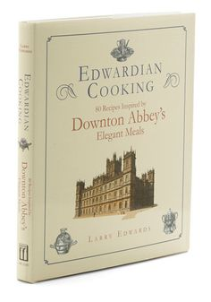 Edwardian Cooking. Youve savored every episode of your favorite costume drama, so why not try your hand at entertaining in posh style with this cookbook of classic Edwardian recipes!  #modcloth