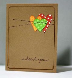 I used to make all my own cards... bought tons of stuff from StampinUp... maybe I should start again