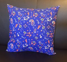 Uf Pillow Cover Florida Gator By Windysboutique