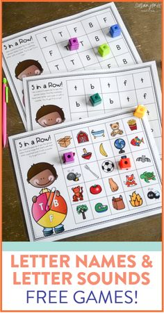 I am always on the lookout for fun, new games and activities to teach my young students the letter names and sounds. Head on over to the blog post to try a free sample of the activities! These games are perfect for kindergarten and early first grade.