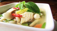 Thai Tom-Yum Po-Tak Sea bass