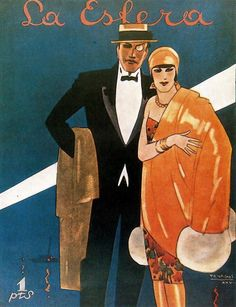 #oldstnewrules #artdeco #art #design #illustration #poster #vintage #fashion #style #romance