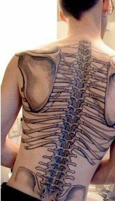 human skeleton system tattoo | tattoos | pinterest | human, Skeleton