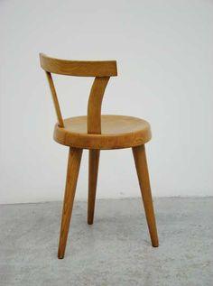 Charlotte Perriand   Rare Tripode chair