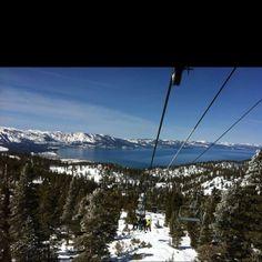 Lake Tahoe ski trip 2012