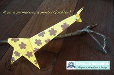 """""""Giraflor"""" em homenagem a primavera! Abraços Dobrados Floridos."""