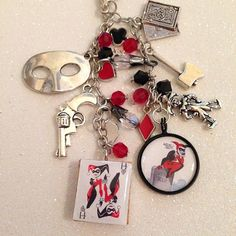 Harley Quinn Inspired Charm Pendant Planner by CraftersRetreat