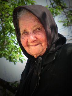 A Good Old Cretan Granny