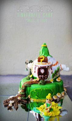 Angel's food: Tinkerbell Cake~Tort Tinkerbell, Zana Clopotica