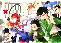 Yu Yu Hakusho and Hunter X Hunter #crossover
