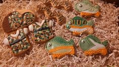 Decorated Cookies for the Fisherman!