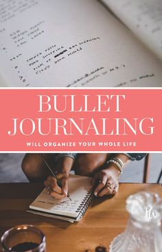 Bullet Journaling Will Help You Get Your Whole Entire Life in Order #purewow #organizing #home #wellness #planning #tip
