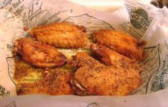 DIY Wingstop Style Chicken Wings   These finger lickin' fried wings aren't exactly the healthiest appetizer, but they're so darn good you won't give it a second thought! - Gluten Free - Foodista.com
