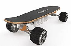 Airwheel Electric Longboard Skateboard Controlled By Handhold Wireless Remote and Support Bluetooth Connection to Smart Phone APP Skateboard Design, Electric Skateboard, Look Good Feel Good, Longboarding, Skateboards, Offroad, Bluetooth, Remote, Connection