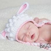 Sweet Lamb Hat Pattern  - via @Craftsy