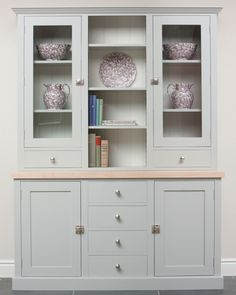 Kitchen dresser plans kitchen dresser plans to save yourself some real money when decorating your house you can buy old dated or worn furni. Dining Room Dresser, Kitchen Dresser, Kitchen Cabinet Storage, Kitchen Paint, Kitchen Furniture, Kitchen Interior, Home Furniture, Kitchen Design, Furniture Design
